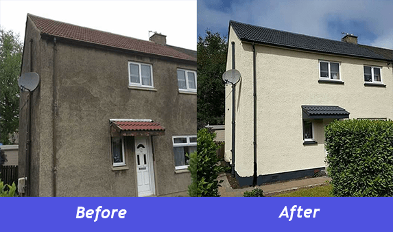 exterior wall coating ayrshire exterior house coating in ayrshire scotland - Exterior Coatings For Houses
