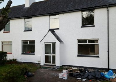 After Wall Rendering in Scotland
