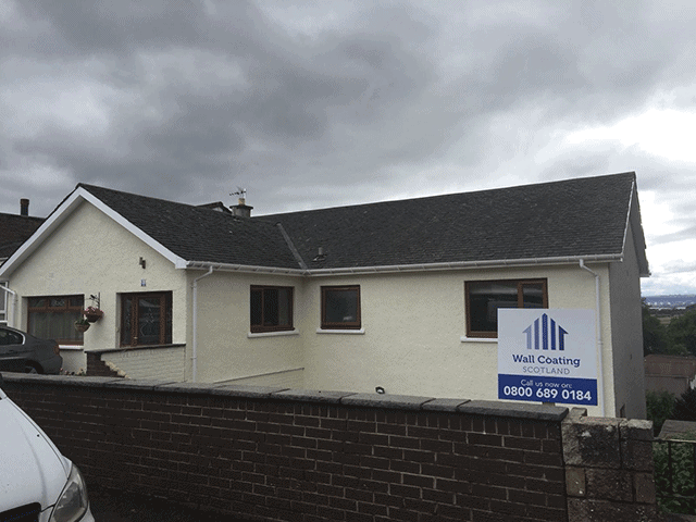 newly wall coated houses in scotland - Exterior Coatings For Houses