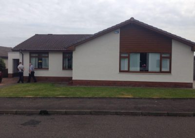 Wall coating / roughcast in Ayrshire